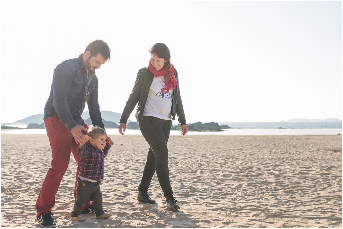 idée de cadeau de Noël pour sa famille une séance photo familiale à Saint Malo