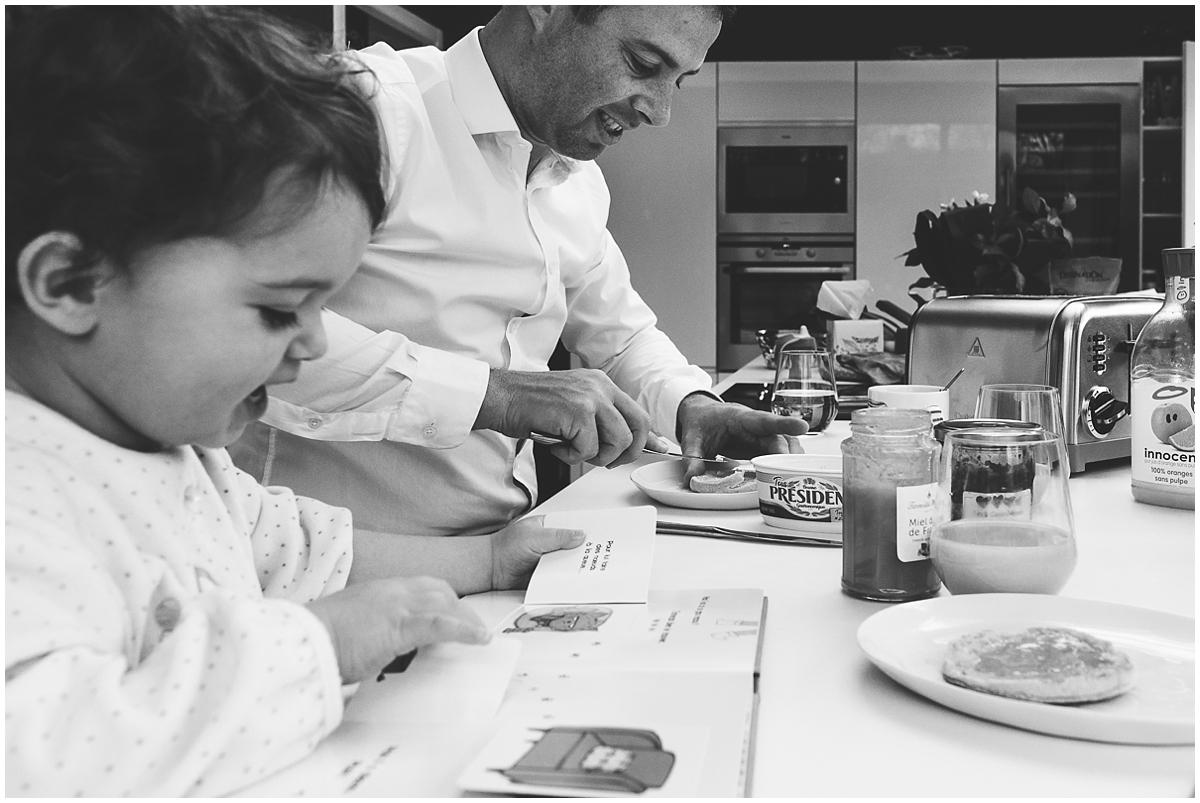 Documentaire photo de famille - la magie du quotidien