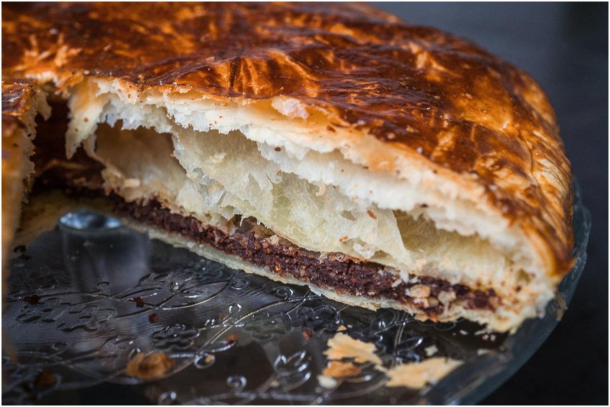recette galette des rois chocolat orange
