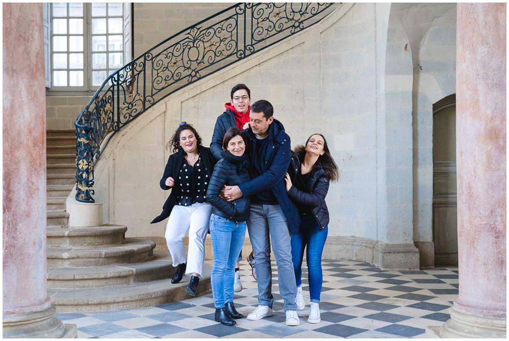 Séance photo avec ados en décembre dans les rues de Rennes
