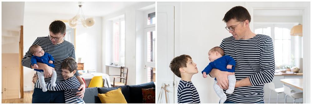 séance photo nouveau né à la maison